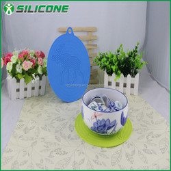 Alibaba China silicone pad mat eco-friendly dinner placemat