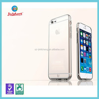 transparent crystal clear tpu mobile cover for iphone 6 case