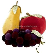 2015 wholesale latest vegetable shape pillow/custom fruit vegetable shaped pillow/stuffed pillows toy