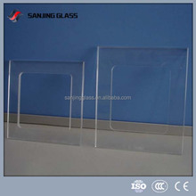 Tempered switch transparent glass