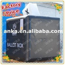 Advertising inflatable box model/ inflatable box model for promotion / custom inflatable cube box model