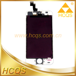 for iphone 5s digizier lcd touch OEM combo, displayfor iphone 5s spare part assembly panel