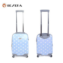 2015 ABS suitcase in or polycarbonate suitcase sets imported
