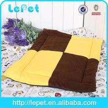 Cute Yellow Dog Puppy Cat Pet Nesting Bed Mat Cozy Warm