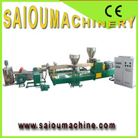 single screw plastic recycling cleaning line