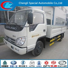 New truck container size truck certificated cargo transporting truck foton van