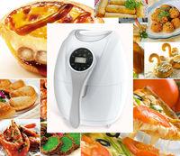 CE CB approval 2015 digital industrial air deep fryer oil free cooking