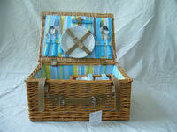 new wicker picnic basket for sale