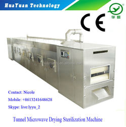 Garlic / Ginger Tunnel Microwave Dehydrator