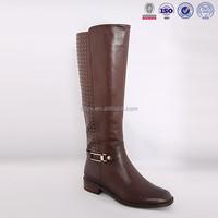 Latest women wholesale long leg latex crossdresser abs heel ladies leather boots