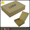 Professional wholesale custom design kraft box brown kraft paper gift box