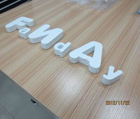 MDF plywood white color wooden scrabble letters