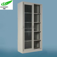 Top sale KD structure swing glass and steel door ironing board cabinet cupboards