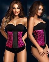 2015 Fahsion Style Sexy Leopard print Underbust Latex Corsets