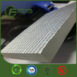 Self adhesive and aluminum backed closed cell pe foam