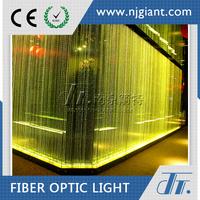 twinkle crystal decorative lighting fiber optic curtain