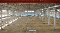 light portable steel structure workshop warehouse for sale