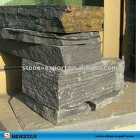 Grey slate block