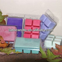 Scented Fragrance Wax Melt Cubes /scented soy wax melt