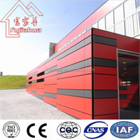 Fujiahua Wood Color Weather Resistant HPL Wall Cladding For Exterior Building