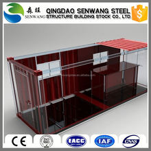 light anticorrosive modern beautiful container house