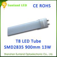 Shenzhen lighting factory SMD2835 CE ROHS t8 36watts fluorescent tube light