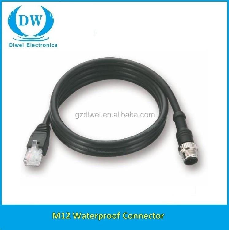 M12 auf RJ45 kabel stecker, M12 zu USB kabel-Vermittler-Produkt ID ...