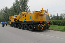 Used 200 ton TADANO hydraulic mobile crane originally from Japan
