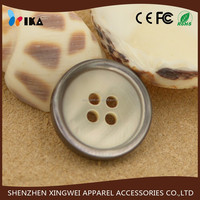 2015 fashionable natural trocas button with high quality