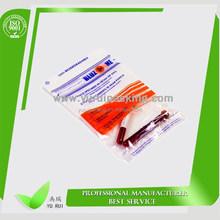 Plastic specimen bag biohazard zipper resealable specimen bag