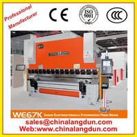 automatic carbon steel bending machine 10feet press brake for sale good price NC hydraulic plate press brake