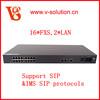 VoIP gateways support WAN, LAN, POTS, WLAN IAD3016