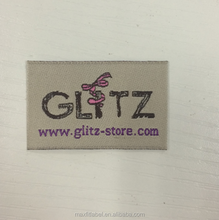 woven label type high quality Garment,Shoes,Bags,garment accessory use clothing label with end fold