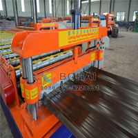 Energy-efficient new type colored tile roll forming machine /kejo machine
