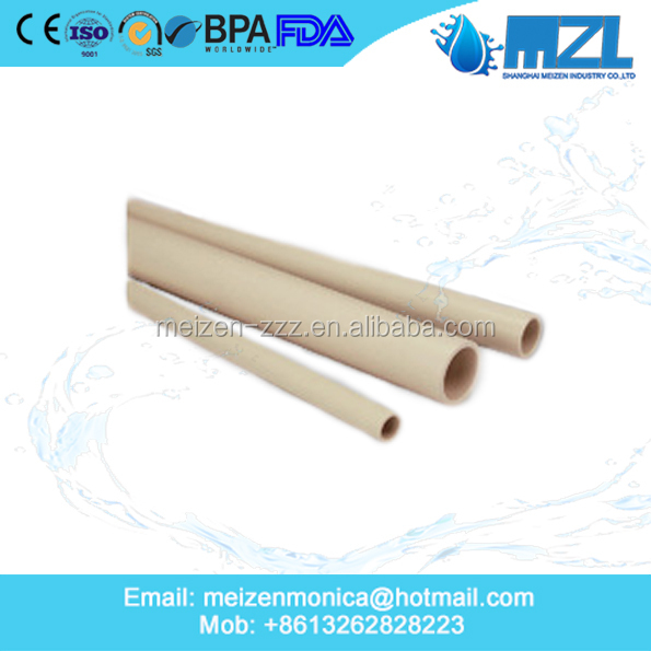 Astm inch pvc pipe cpvc for industry usage buy