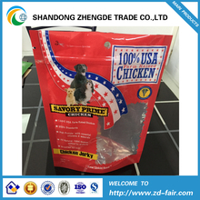 Accept Custom Order and Laminated Material Material Half transparent PET/PE compound pet food Plastic poly bag