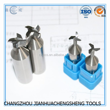 T Slot CNC Solid Carbide Helical Milling Cutter
