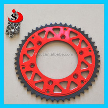 Steel Aluminium HQ Motorcycle sprocket for 428 chain for Motocross Supermoto Dirt bike