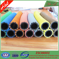 Flexible chemical rubber hose