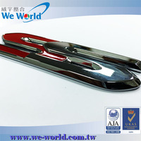 Perfect condition brand new glossy chrome finish metal car emblem