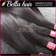 Human hair in new york full cuticle shedding tangle free unprocessed hair wavy wholesale virgin malaysian hair