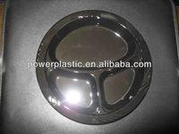 3 compartments plastic plate