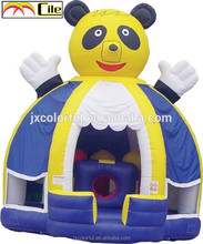 CILE 2015 Cute Panda Inflatable Bouncer Castle for Backyard Playground