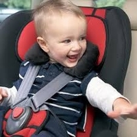 Baby five point hanging safety seat belt