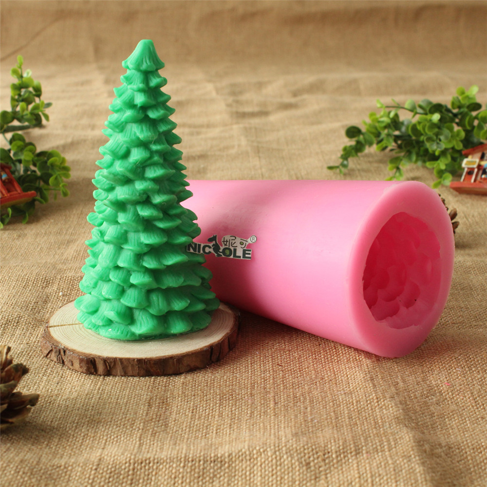 rvore de natal velas decorativas moldes