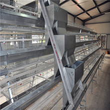 Africa farm battery cages for laying hens used
