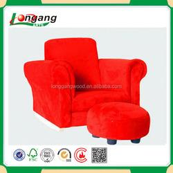 made in china 2015 New model sofa cheap colorful Mini kids folding sofa with stool