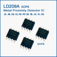 Integrated circuit with metal proximity detector LD209A SOP8