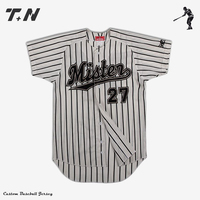 Wholesale dry fit cheap custom baseball jersey