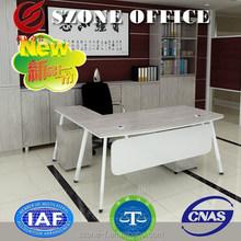 Szone brand Modern Office Table SZ-MM01-002 /2015 New Design metal frame table